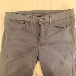 Gray Skinny Stretch Pants